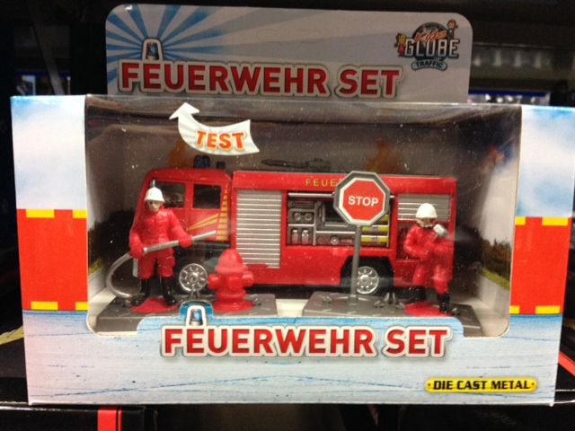 DCPB Feuerwehr Tankautospuit met accessoires Light and Sound