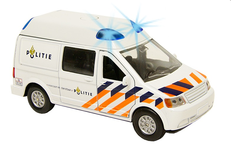 DCPB Politie Bus Nederland Light and Sound