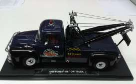 Ford F100 Pick-Up Tow Truck 1956 Blue
