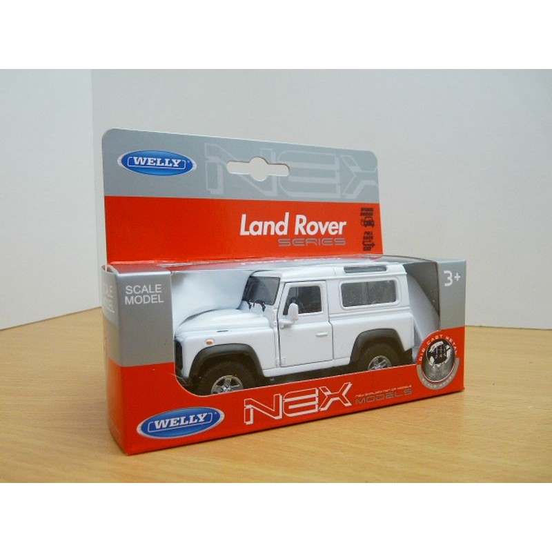 Land Rover Defender Wit