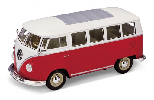 Volkswagen Classical Bus 1962 Red/White