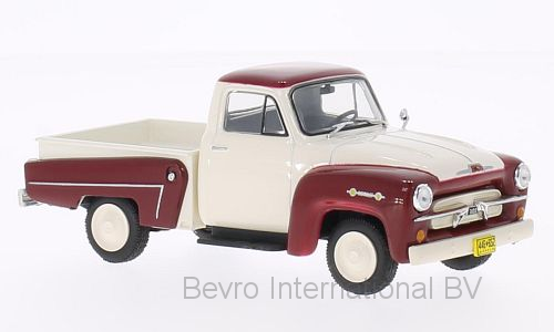 Chevrolet 3100 1958 Wit/Donkerrood