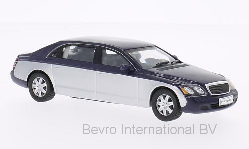Maybach 62 2009 Donkerblauw/Zilver Metallic