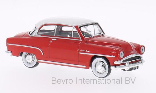 Simca Aronde Grand Large 1953 Rood/Wit