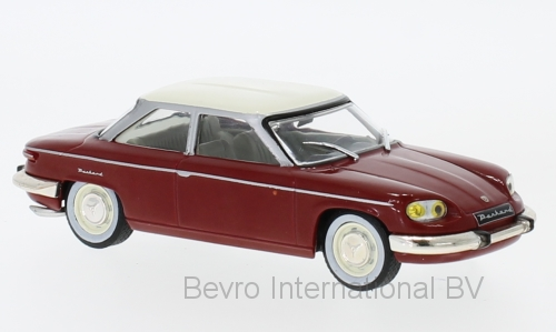 Panhard 24 BT 1964 White/Red