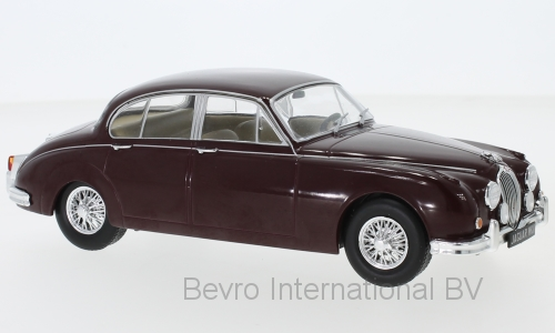 Jaguar MKII 1960 Dark Red - 1:24