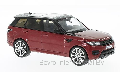 Range Rover Sport 2014 Red/Black Metallic