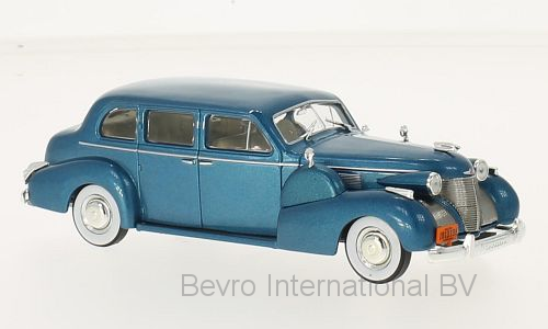 Cadillac Series 75 Fleetwood V8 Sedan 1939 Blauw Metallic