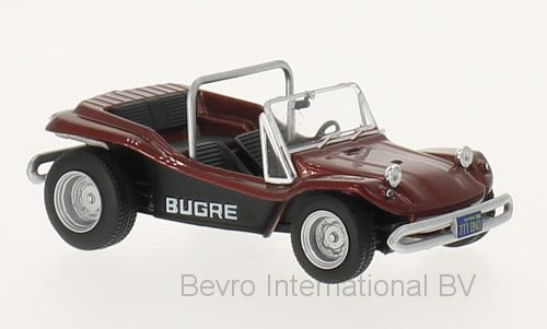 Bugre Buggy 1970 Dark Red Metallic