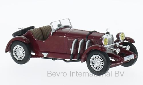 Mercedes-Benz SSK 1928 Donkerrood