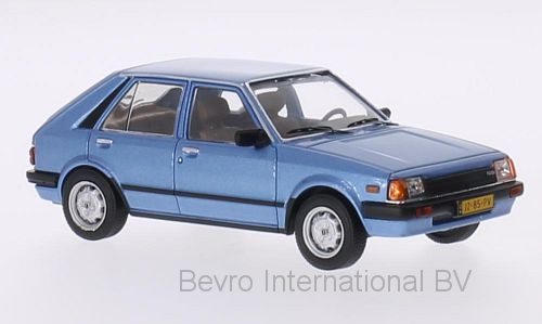 Mazda 323 Hatchback 1982 Blauw Metallic