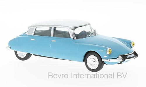 Citroen DS 19 1966 Lichtblauw/Wit