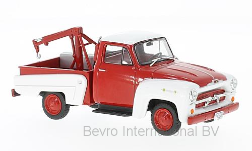 Chevrolet 3100 Tow Truck 1956 Red/White
