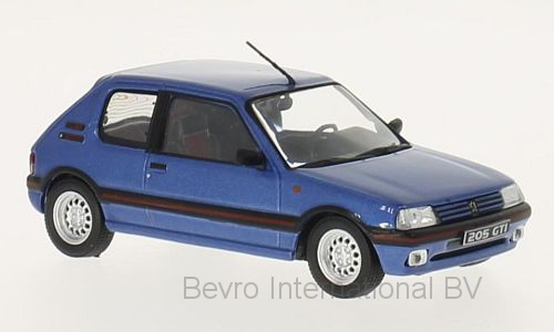 Peugeot 205 GTi 1992 Blue Metallic