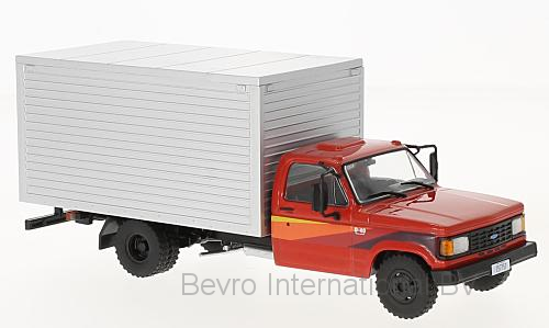 Chevrolet D-40 Box Truck 1985 Rood/Zilver