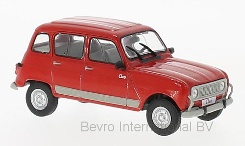 Renault 4 Clan 1978 Rood