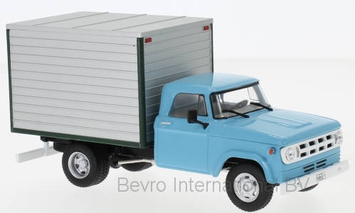 Dodge D-400 Box Van 1971 Light Blue/Grey