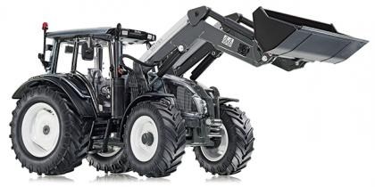Valtra N123 with Frontloader Grey - WIKING